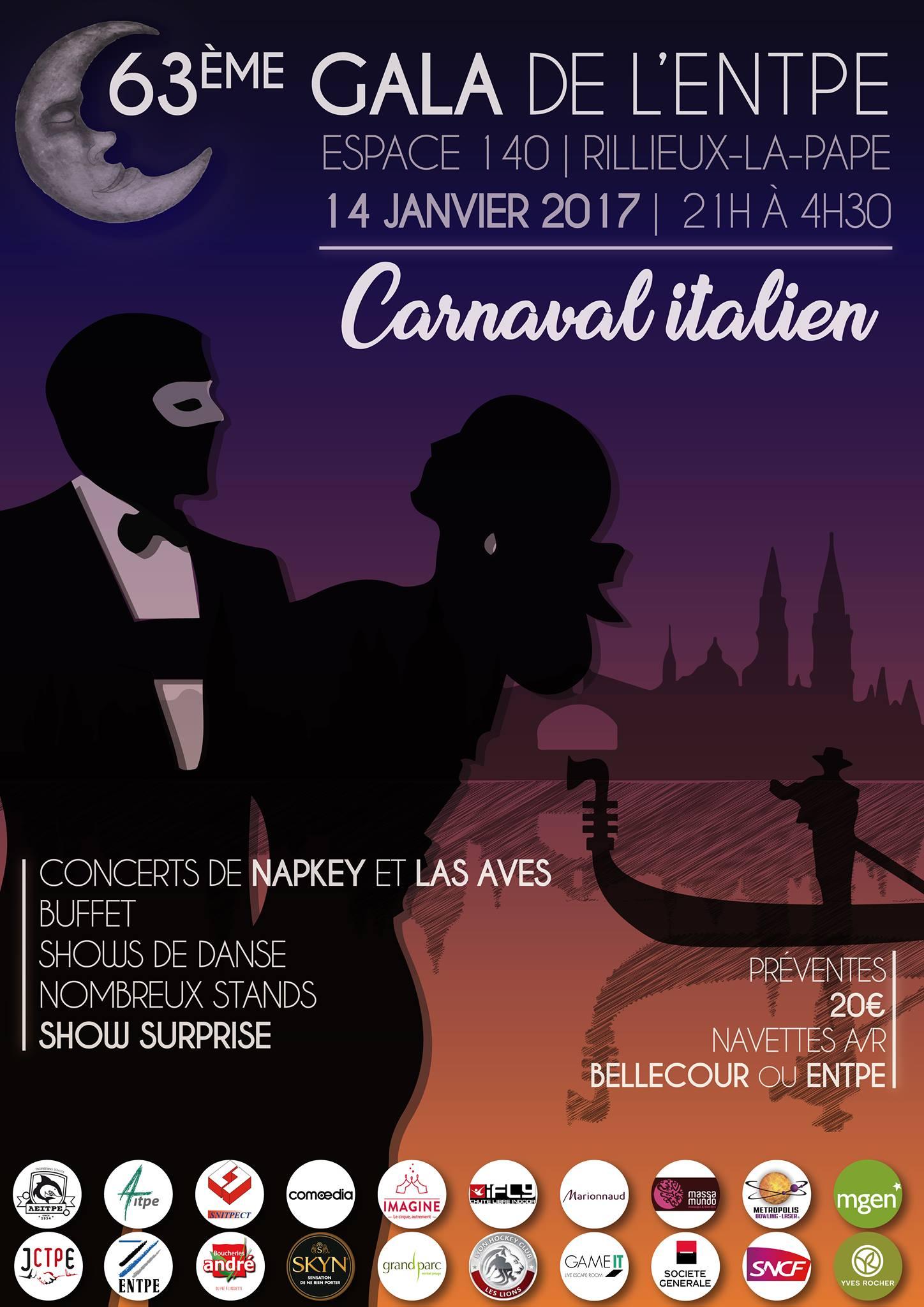 Affiche du Gala63 du 14/01/2017